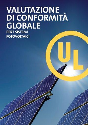 Valutazione di conformità globale - UL.com
