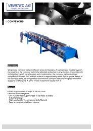 VERITEC_Conveyors EN - VERITEC AG, Anlagen