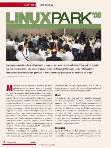 Librix Patrocínio Notícias 10 - Linux New Media