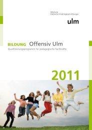 Qualifizierungsprogramm für pädagogische Fachkräfte - Ulm