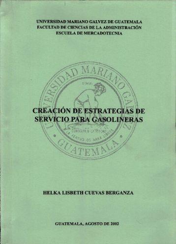 universidad mariano galvez de guatemala facultad de ciencias de la ...