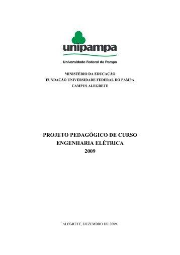 PPC - Engenharia Elétrica 2010 - UNIPAMPA Cursos