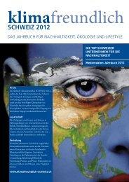 klimafreundlich SCHWEIZ 2012 - UTK Media