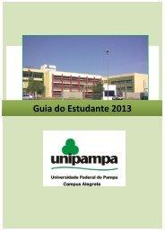 GUIA DO ESTUDANTE (pdf) - UNIPAMPA Cursos