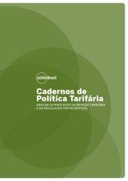 Cadernos de Política Tarifária - Instituto Acende Brasil