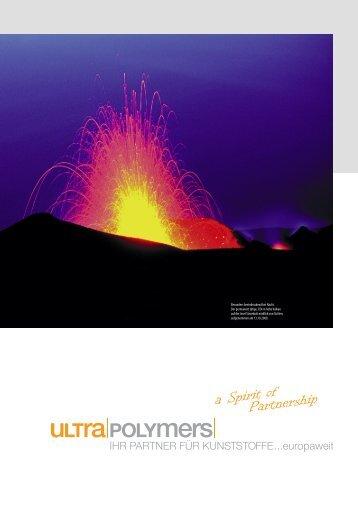 Imagebroschüre - bei UltraPolymers
