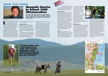 Race the World: Mongolia Sunrise to Sunset 100k Ultramarathon ...