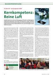 Kernkompetenz: reine Luft - Ult AG