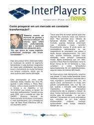 InterPlayers News 2ª edição - Pharma Link