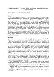 Redes Interorganizacionais para Inovação Tecnológica: o ... - Anpad