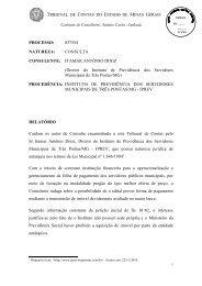 Consulta nº 837554 - Conselheiro Antonio Carlos Andrada