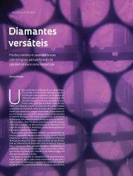 Diamantes versáteis - Revista Pesquisa FAPESP