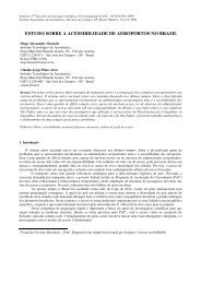 estudo sobre a acessibilidade de aeroportos no brasil - ITA