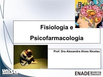 Fisiologia e Psicofarmacologia Material de Estudo ENADE ... - Unisa
