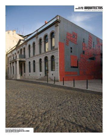 Boletim 186 - Ordem dos Arquitectos