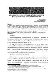 bens duráveis: a industrialização brasileira - História Livre