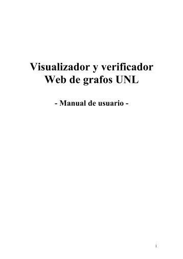 Visualizador y verificador Web de grafos UNL