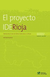 Folleto informativo - IDE La Rioja - Gobierno de La Rioja