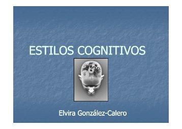 ESTILOS COGNITIVOS - asignaturamodelos