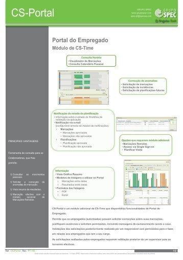 Consulta Horária • Visualizador de Marcações ... - Grupo SPEC