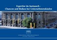 Chancen und Risiken bei  Unternehmenskäufen - UMR GmbH
