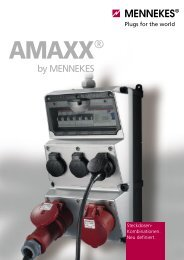 AMAXX® Steckdosen-Kombinationen, chemikalienbeständig ...