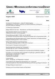 Bundesamt für Strahlenschutz – Institut für Strahlenhygiene ...