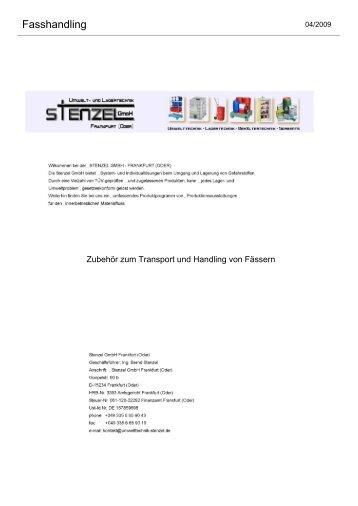 Fasshandling - Umwelttechnik Stenzel GmbH