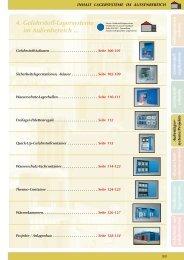 4. Gefahrstoff-Lagersysteme im Außenbereich - Umwelttechnik Stenzel