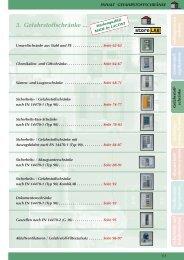 3. Gefahrstoffschränke ... - Umwelttechnik Stenzel