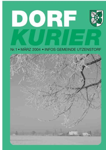 Der neue Burren: Schauen Sie doch mal rein! - Gemeinde Utzenstorf