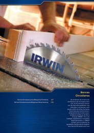 Serras Circulares - Irwin