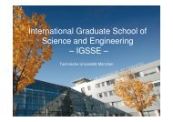 International Graduate School of Science and ... - TU Dortmund