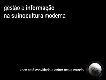 gestão e informação na suinocultura moderna