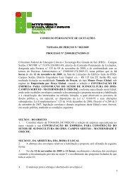 TP 02-2009 Suinocultura - Maternidade e Creche - IFRS