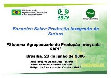 PI Suinocultura Brasília 28-06-2006 - Embrapa