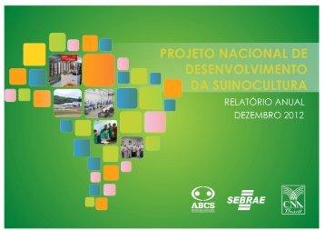 Relatório de Atividades do PNDS 2012 - Suino Brasília