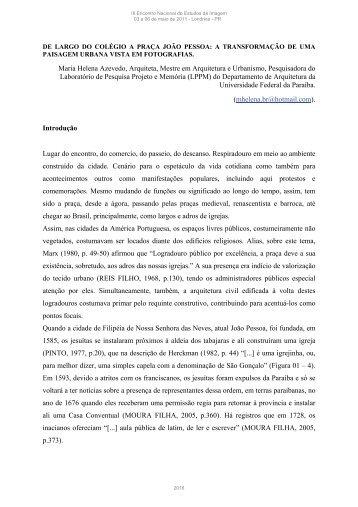 Maria Helena de Andrade Azevedo - Universidade Estadual de ...