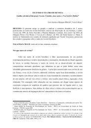 Tecendo o teatro de revista - Análise estrutural ... - CEART - Udesc