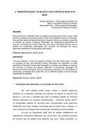 """A """"DEMOCRATIZAÇÃO"""" DA BELEZA E DOS CORPOS NA MODA E ..."""