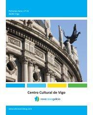Información del Centro Cultural Novacaixagalicia Vigo.