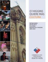 O'Higgins 2005-2010 - Consejo Nacional de la Cultura y las Artes