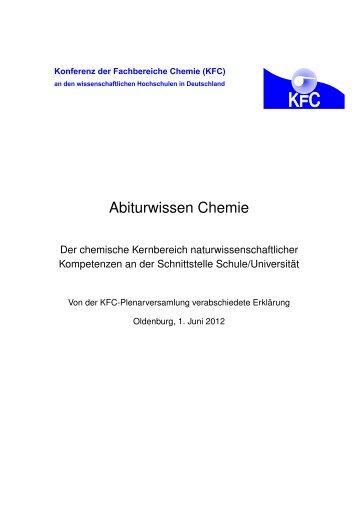 Abiturwissen Chemie