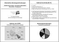 Obstruktive Atemwegserkrankungen Asthma bronchiale (M. R. ...