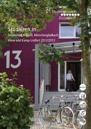 Studieren in Düsseldorf, Krefeld, Mönchengladbach, Kleve und Kamp