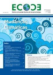 Mudanças Climáticas Mudanças Climáticas - EcoEco - Sociedade ...