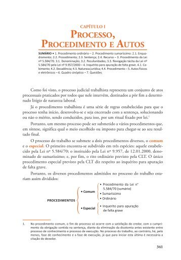 Processo, Procedimento e Autos - Editora Juspodivm