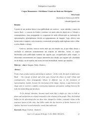 Modapalavra E-periódico Ano 3, n.5, jan-jun 2010 ... - CEART - Udesc