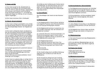 Satzung - Gesellschaft von Freunden und Förderern der Ernst-Moritz