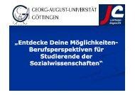 Präsentation von Jens Claussen